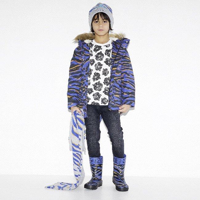 Kenzo kids bambino Tiger Autunno inverno 2017
