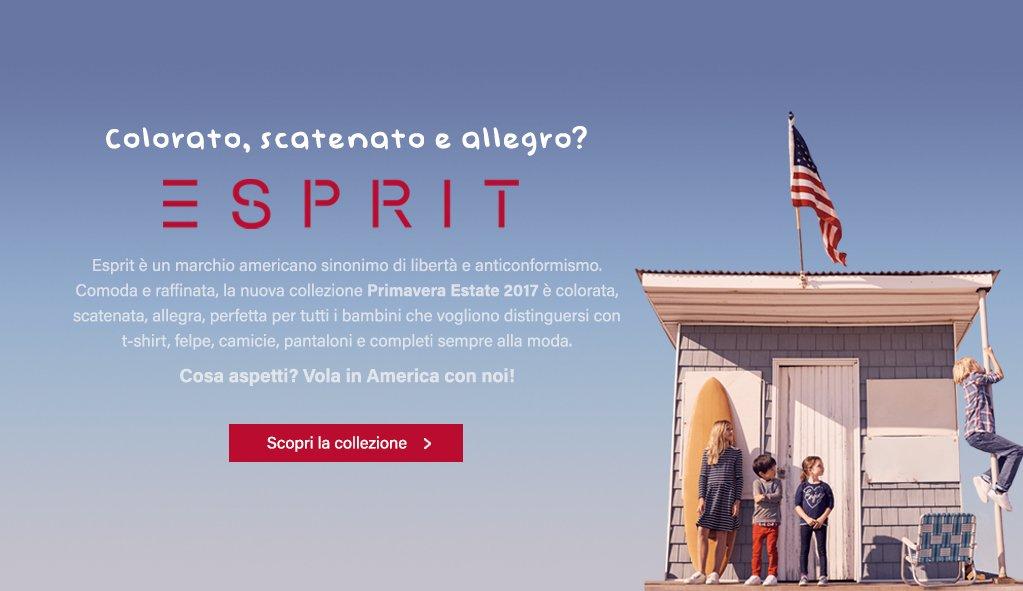 Vola in America con Esprit