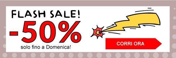 Flash sale=