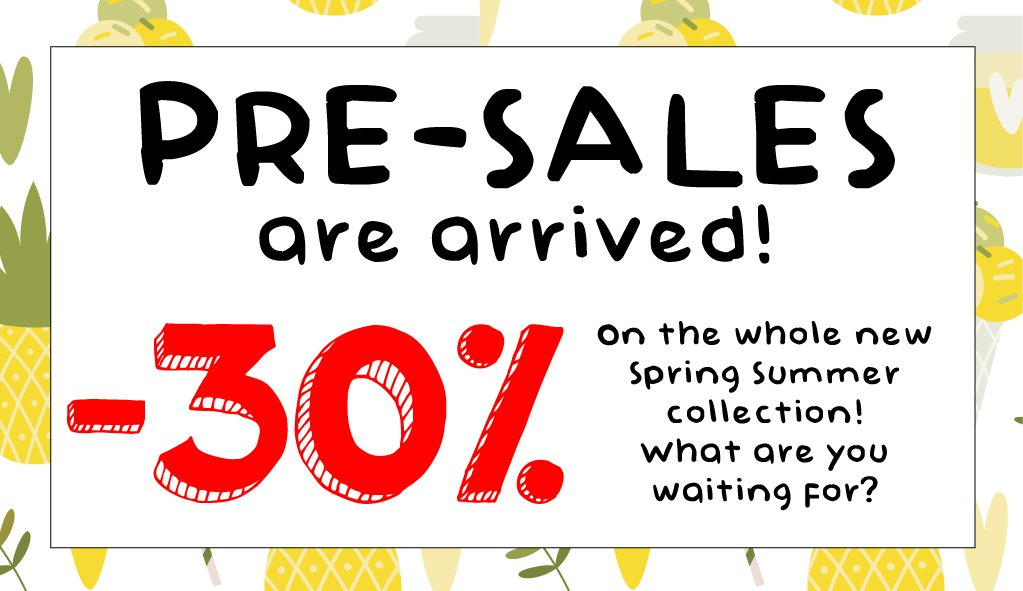 30% off on all spring summer collections