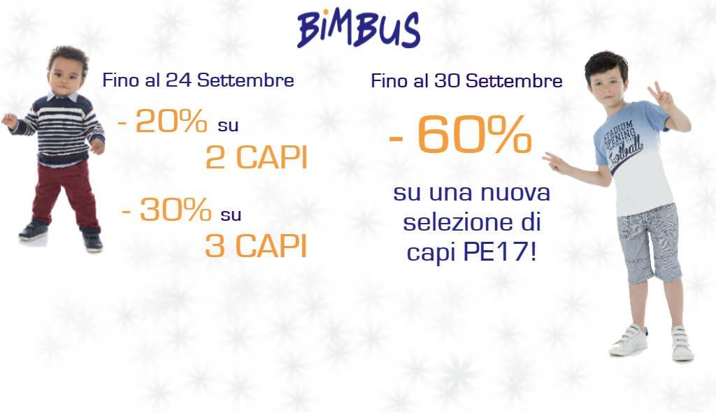 Promozioni Bimbus Settembre
