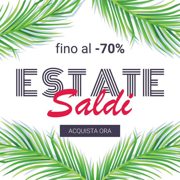 fino al 70% Saldi Estate