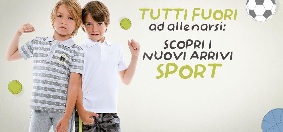Abbigliamento sport bambini